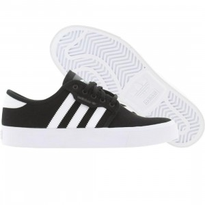 Adidas Skate Big Kids Seeley (black / runninwhite / black)