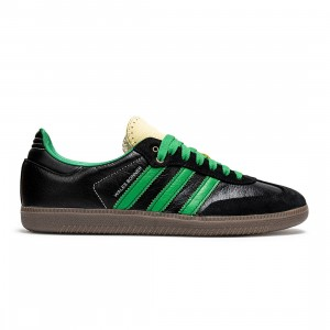 Adidas x Wales Bonner Men Samba (black / white / green)