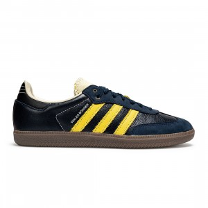 Adidas x Wales Bonner Men Samba (navy / collegiate navy / cream white / mono yellow)