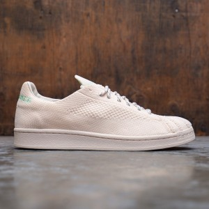 Adidas x Pharrell Williams Men Superstar Primeknit (beige / ecru tint / cream white / glow mint)
