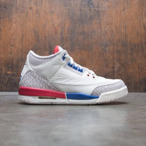 AIR JORDAN 3 RETRO BG Big Kids (sail / sport royal-fire red)