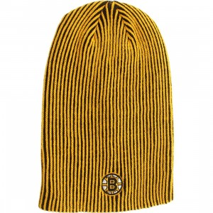 American Needle Boston Bruins Team Switch Knit Beanie (black / gold)