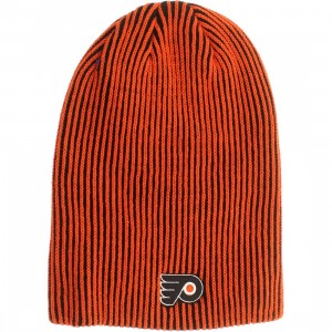 American Needle Philadelphia Flyers Team Switch Knit Beanie (black / orange)