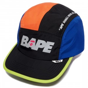 A Bathing Ape Multi Color Cap (orange)