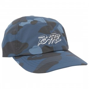 A Bathing Ape Color Camo Panel Cap (navy)