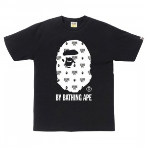 A Bathing Ape Men Monogram By Bathing Tee (black)