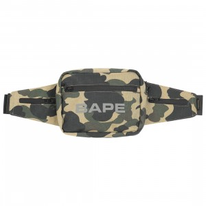 A Bathing Ape 1st Camo Waist Bag (yellow)
