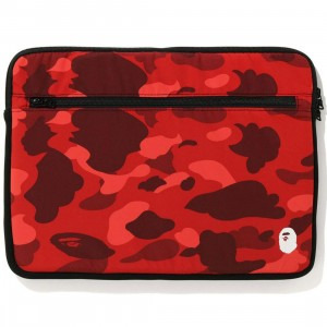 A Bathing Ape Color Camo 15 Inch PC Case (red)
