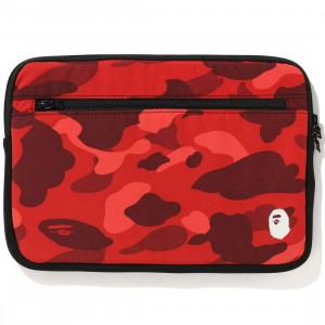 A Bathing Ape Color Camo 13 Inch PC Case (red)