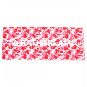 A Bathing Ape ABC Camo Sport Towel (pink)