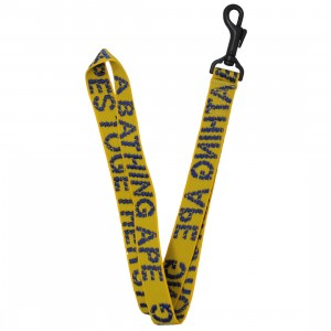 A Bathing Ape ATS Neck Strap Lanyard (yellow)