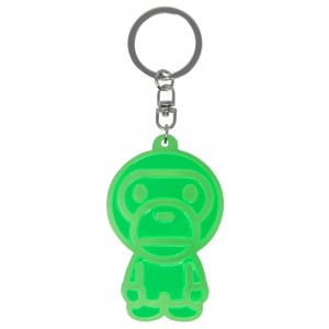 A Bathing Ape Baby Milo Reflective Keychain (green)