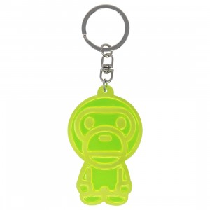 A Bathing Ape Baby Milo Reflective Keychain (yellow)
