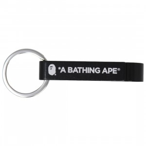 A Bathing Ape Bape Bottle Opener Keychain (black)