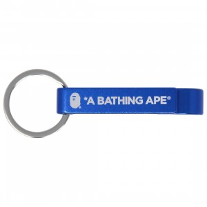 A Bathing Ape Bape Bottle Opener Keychain (blue)