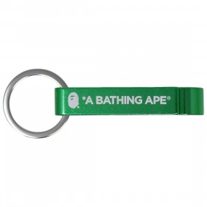 A Bathing Ape Bape Bottle Opener Keychain (green)