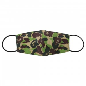 A Bathing Ape ABC Camo Mask (green)