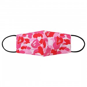 A Bathing Ape ABC Camo Mask (pink)