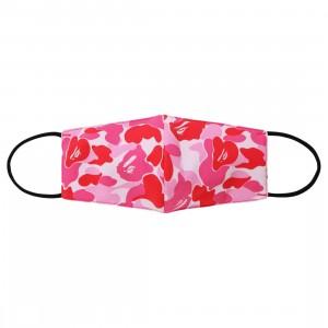 A Bathing Ape ABC Camo Mask (pink)