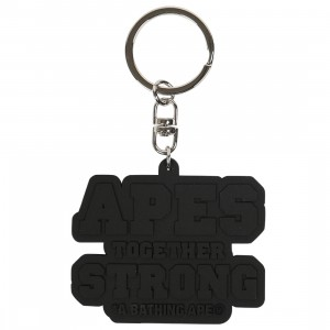 A Bathing Ape ATS Keychain (black)