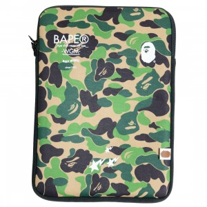 A Bathing Ape ABC Camo PC Case (green)