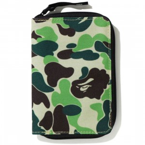 A Bathing Ape ABC Camo Passport Case (green)