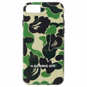 A Bathing Ape ABC Camo iPhone SE Case (green)