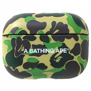 A Bathing Ape ABC Camo Airpods Pro Case (green)