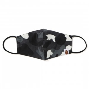 A Bathing Ape City Camo Mask (black)
