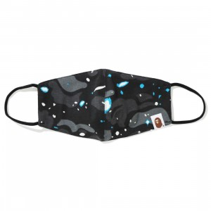 A Bathing Ape Space Camo Mask (black)
