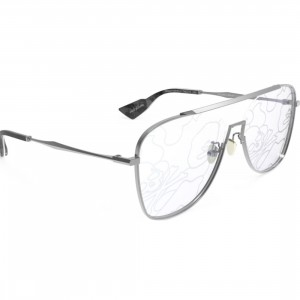 A Bathing Ape Bape x MMJ 1 Sunglasses (silver)