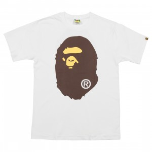A Bathing Ape Men Big Ape Head Tee (white)