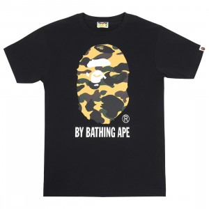 A Bathing Ape Men 1st Camo By Bathing Ape Tee (black / yellow)