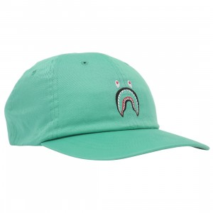 A Bathing Ape Shark Panel Cap (green)