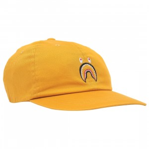 A Bathing Ape Shark Panel Cap (orange)