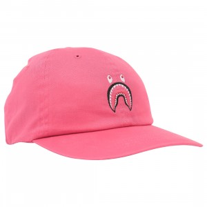 A Bathing Ape Shark Panel Cap (pink)