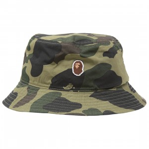 A Bathing Ape 1st Camo Bucket Hat (green)