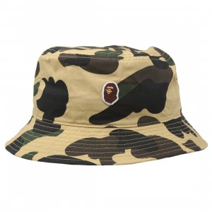 A Bathing Ape 1st Camo Bucket Hat (yellow)