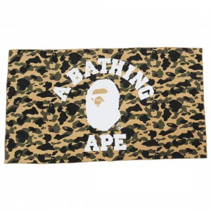 A Bathing Ape 1st Camo Beach Towel (yellow)