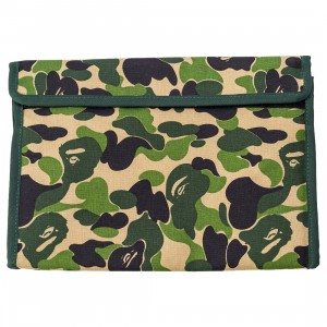 A Bathing Ape ABC Camo Tissue Cover (green)