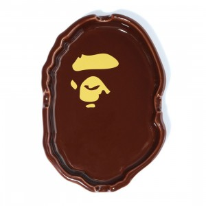 A Bathing Ape Ape Head Ashtray (brown)