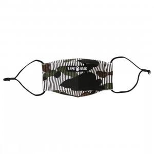 A Bathing Ape 1st Camo Stripe Mask (black)