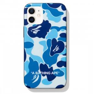 A Bathing Ape ABC Camo iPhone 12 Mini Case (blue)