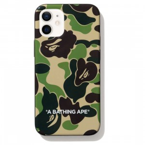 A Bathing Ape ABC Camo iPhone 12 Mini Case (green)