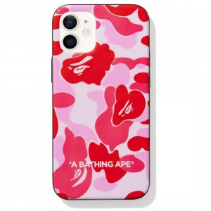 A Bathing Ape ABC Camo iPhone 12 Mini Case (pink)