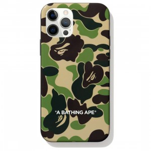 A Bathing Ape ABC Camo iPhone 12 / 12 Pro Case (green)