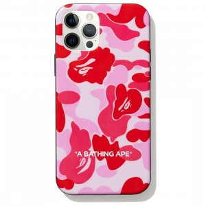 A Bathing Ape ABC Camo iPhone 12 / 12 Pro Case (pink)