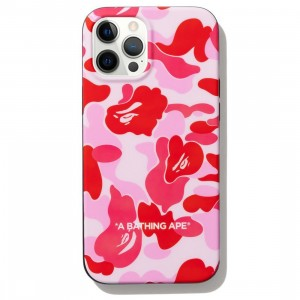 A Bathing Ape ABC Camo iPhone 12 Pro Max Case (pink)