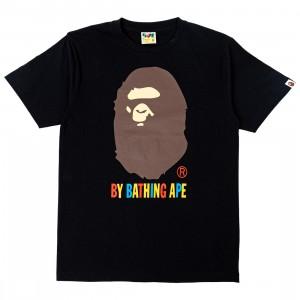 A Bathing Ape Men Colors By Bathing Ape Tee (black)