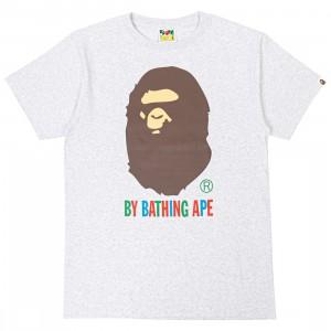 A Bathing Ape Men Colors By Bathing Ape Tee (gray)